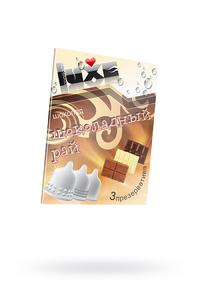 Презервативы Luxe КОНВЕРТ, Шоколадный рай, шоколад, 18 см., 3 шт. в упаковке