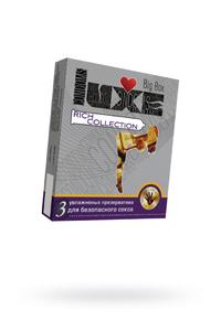 Презервативы Luxe Big Box Rich Collection, 18 см., №3, 24 шт.