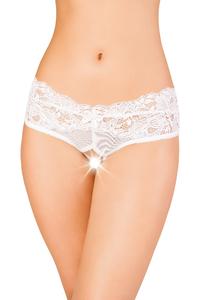 Эротические трусики Erolanta Lingerie Collection, белые (50-52)