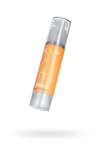 Анальный гель-лубрикант Sexus на водной основе для женщин с ароматом персика Crystal Peach Anal 60 мл