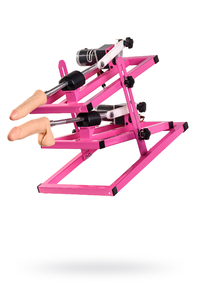 Секс-машина, LoveMachines, Дабл-Казанова, металл, розовый, 51 см