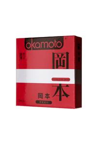 Презервативы Окамото серия Skinless Skin  Super thin  № 3 Ультра-тонкая классика
