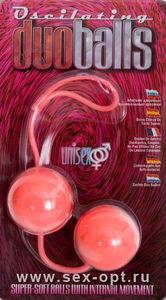 Вагинальные шарики Dream Toys, супермягкие, розовые, ?3,5 см