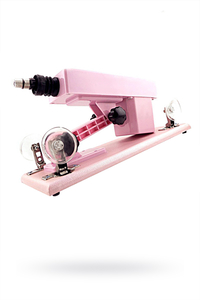 Секс-машина, LoveMachines, Machine Gun, ABS пластик, розовый ,37 см