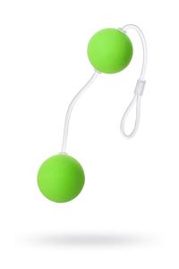 Вагинальные шарики Sexus Funny Five, ABS пластик, Зеленый, ? 3 см