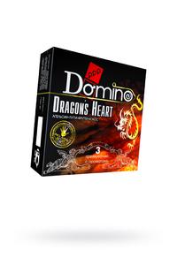 Презервативы Luxe DOMINO PREMIUM Dracon's Heart, апельсина, кокоса и фруктов, 3 шт. в упаковке