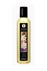 Массажное масло Shunga Яблоко, возбуждающее, натуральное, 250 мл