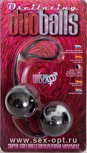 Вагинальные шарики Dream Toys, супермягкие, чёрные, ?3,5 см