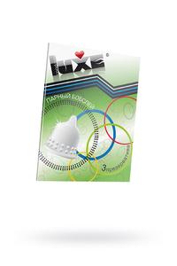 Презервативы Luxe КОНВЕРТ, Парный бобслей, 18 см., 3 шт в упаковке