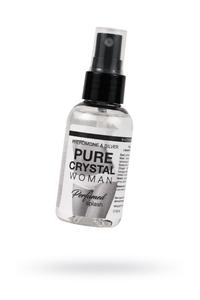 Парфюмированная вода для нижнего белья Natural Instinc, с  феромонами и ионами серебра Pure Cristal , женская, 50 мл