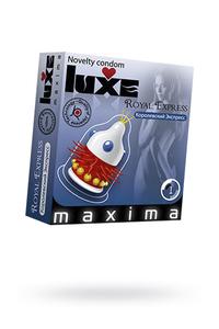 Презервативы Luxe Maxima Королевский экспресс №1, 24 шт
