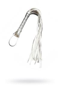 Плеть Sitabella серебро,65 см