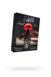 Презервативы Luxe Domino sweet sex Тирамису, 18 см., 3 шт. в упаковке