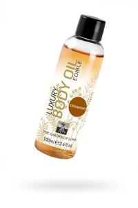 Съедобное масло для тела с ароматом корицы 100 мл