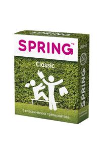 Презервативы SPRING CLASSIC - классические, №3,ШТ