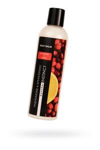 Бальзам для тела с феромонами Natural Instinct с ароматом клюквы и лимона, 250 мл