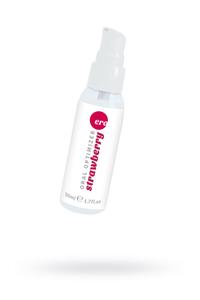 Съедобный гель Gel optimizer для орального секса, с охлаждающим эффектом, со вкусом клубники, 50 мл.