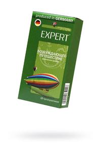 Презервативы Expert ''Возбуждающее путешествие'' №12, увеличенного  размера, 12шт