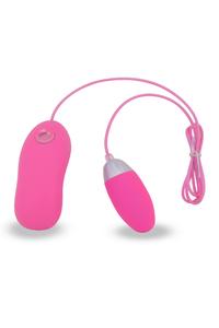 Тренажер для мыщц малого таза Seven Creations, 7 режимов вибрации, силиконовый, розовый