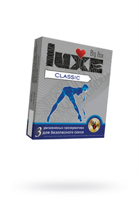 Презервативы Luxe Big Box Classic панель, 18 см., №3, 24 шт.
