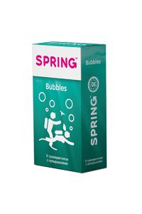 Презервативы SPRING BUBBLES - с пупырышками, №9 ШТ