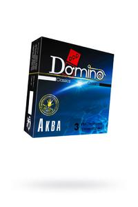 Презервативы Luxe DOMINO Classics Аква 18 см, 3 шт. в упаковке