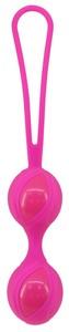 Вагинальные шарики Seven Creations силиконовые, розовые, ?3,5 см