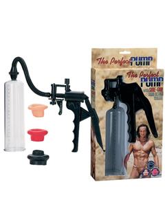 Помпа для пениса Dream Toys, вакуумная механическая, с насадками, ABS пластик, ?5 см