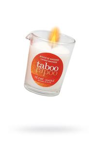 Массажное аромамасло с афродизиаками для женщин RUF Taboo - P?che sucre, сладкий персик, 60 г