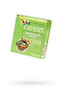 Презервативы Expert ''Запретный плод'' №3, светящийеся в темноте, золотого цвета, супер прочные, 3шт