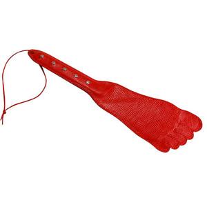 Шлёпалка Sitabella красная 35 см,кожа