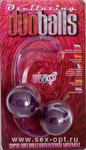 Вагинальные шарики Dream Toys, супермягкие, фиолетовые, ?3,5 см