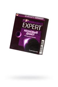 Презервативы Expert ''Неоновый дебют'' №2, светящиеся в темноте, 2шт